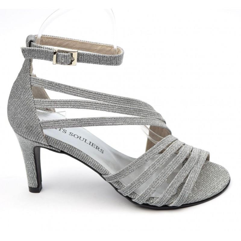 chaussure métallisée