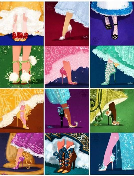 Des chaussures de Princesse