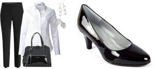 Chaussures pour un entretien d'embauche