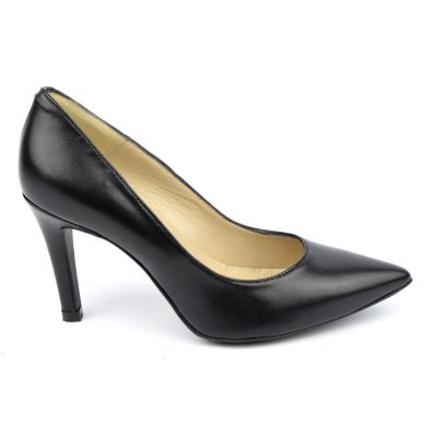 Escarpins cuir mat, noire, Brenda Zaro, F1058, petits pieds