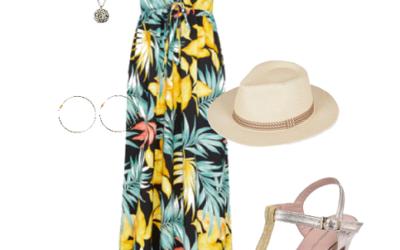 Un look doré pour l'été